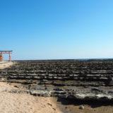 青島神社鳥居と鬼の洗濯板