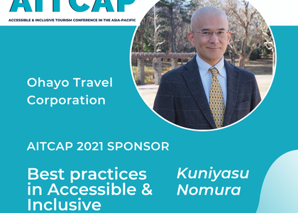 Ohayo Travel to have sessions in AITCAP 2021 – Accessible & Inclusive Tourism Conference in the Asia-Pacific
