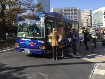 WEバスでの新宿プチツアー