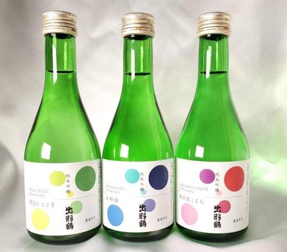 出羽鶴酒3本