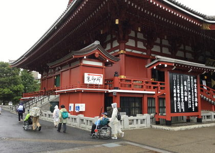 東京旅行介助&おもてなし研修 第2回 実施報告 – 増上寺、東京タワーをめぐり水上バスで浅草寺へ